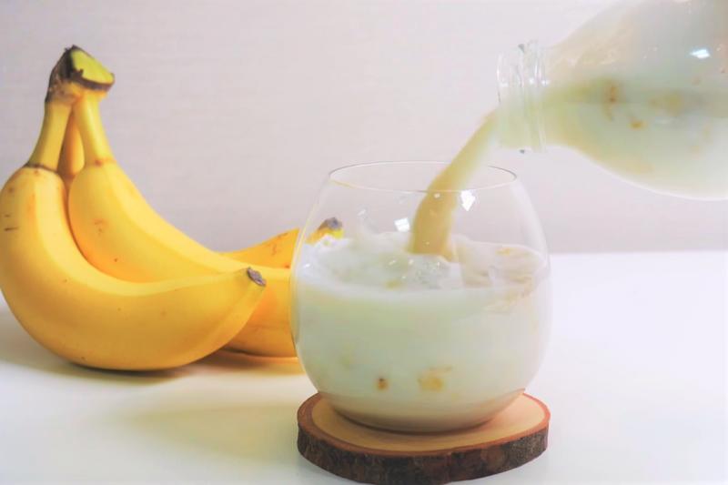 對想瘦身的人來說,如何喝香蕉牛奶最有效、才不會愈喝愈胖呢?(圖/取自youtube)