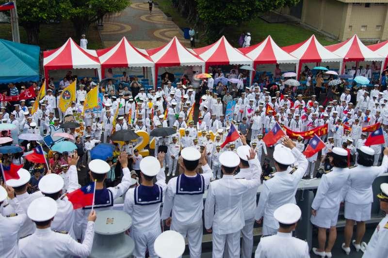 20180614_海軍敦睦艦隊返抵左營軍港。(軍聞社提供)
