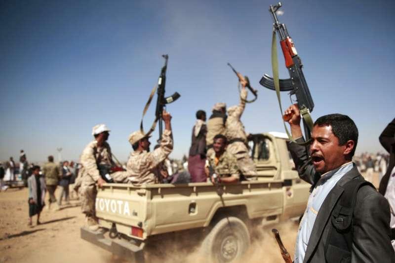 葉門叛軍胡塞組織。(AP)