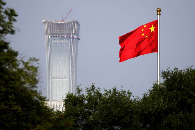 中美貿易戰恐衝擊中國經濟發展。(AP)