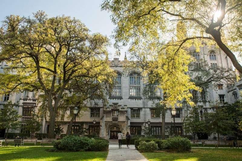 芝加哥大學校園。(取自www.facebook.com/uchicago)