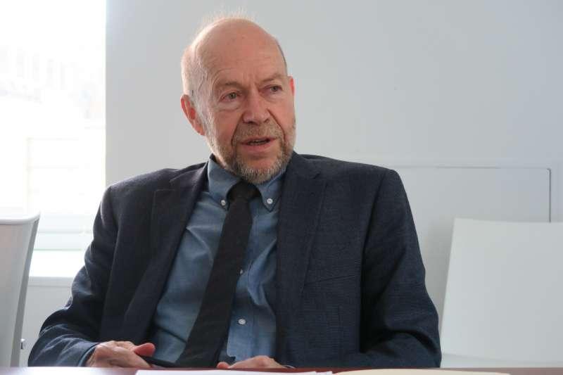 唐獎第三屆永續發展獎得主詹姆士•漢森(James E. Hansen),表彰其在氣候變遷的開創貢獻。(財團法人唐獎教育基金會提供)