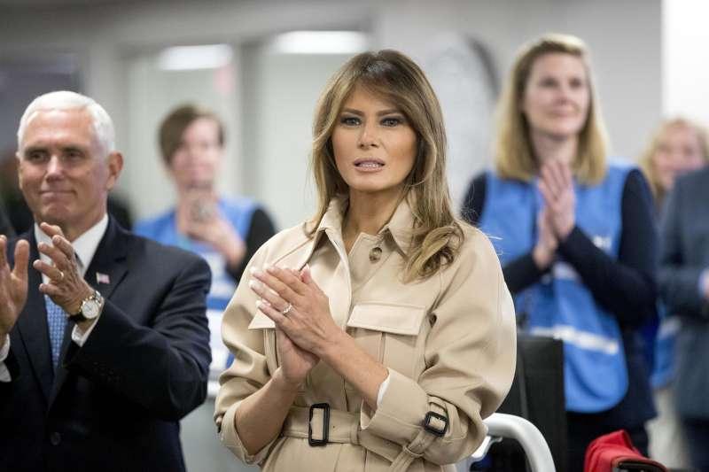 美國第一夫人梅蘭妮亞對於新移民政策發聲,表示依法行政的同時,也要用良心治國(AP)