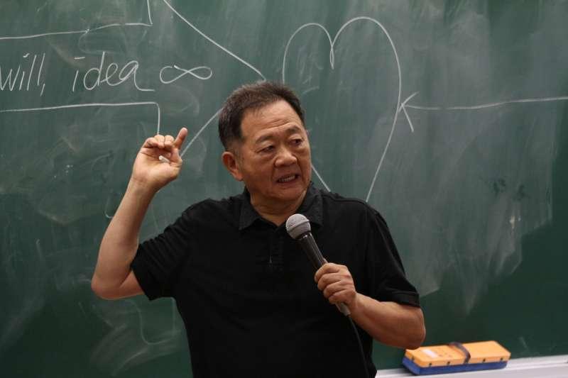 20180619-台北市長參選人李錫錕。(陳韡誌攝)