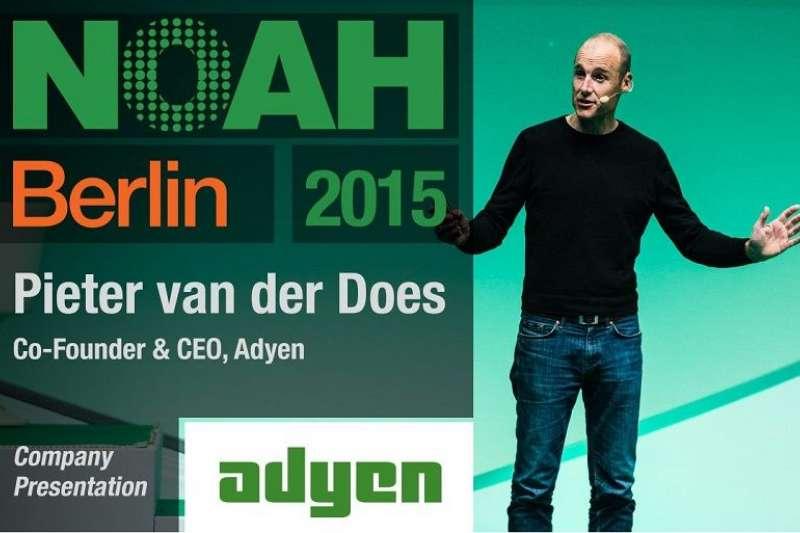 Adyen共同創辦人兼執行長Pieter van der Does。(YOUTUBE截圖)