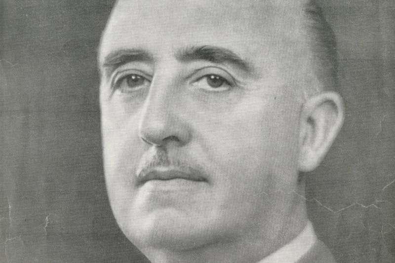 西班牙前獨裁者佛朗哥的肖像(Wikipedia / CC0 1.0)