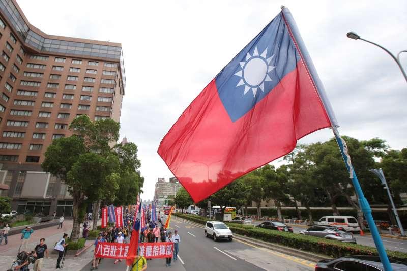 20180620-八百壯士20日繞行立院抗議。(顏麟宇攝)