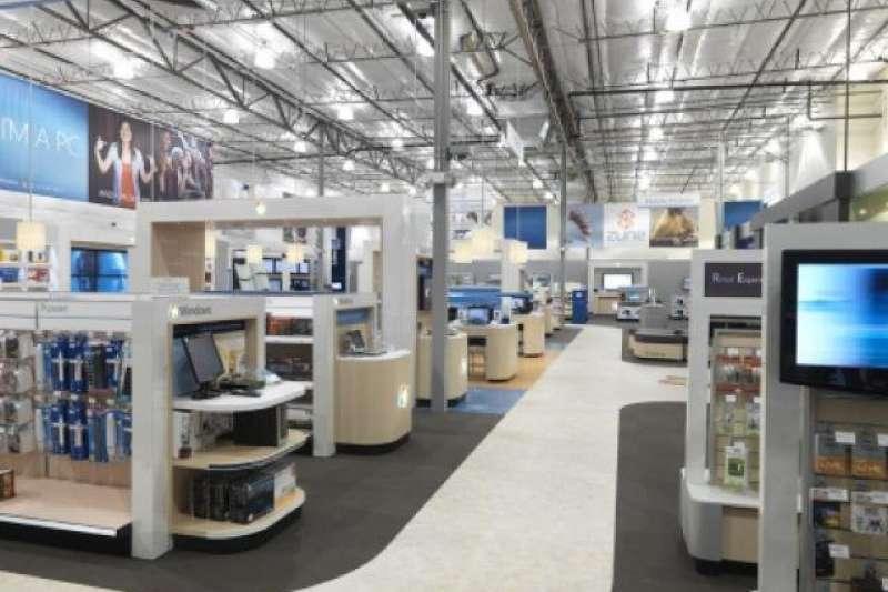 微軟「零售體驗中心」Retail Experience Center(取自網路,作者提供)