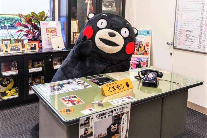 日本的吉祥物文化舉世聞名,熊本熊就是最具有代表性的案例。(圖/*CUP提供)