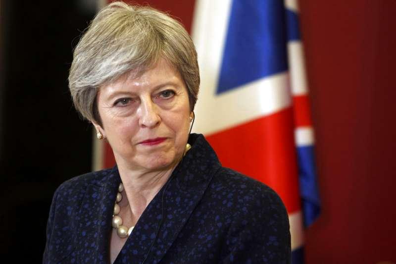 英國首相梅伊(Theresa May)。(AP)