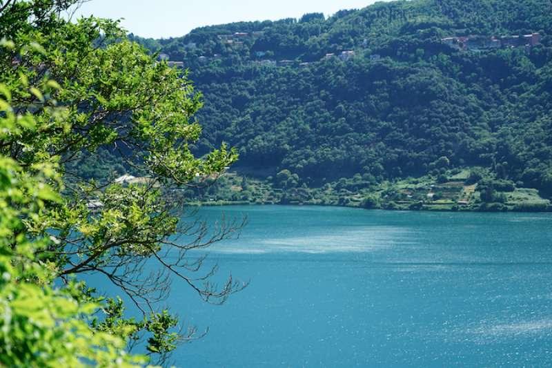 內米湖。(曾廣儀攝)