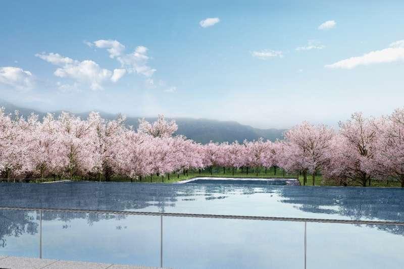 透過設計讓自然景觀價值提升,能讓環境更趨向大自然,形成人、建築與自然共生的理想狀態。圖/龍巖提供