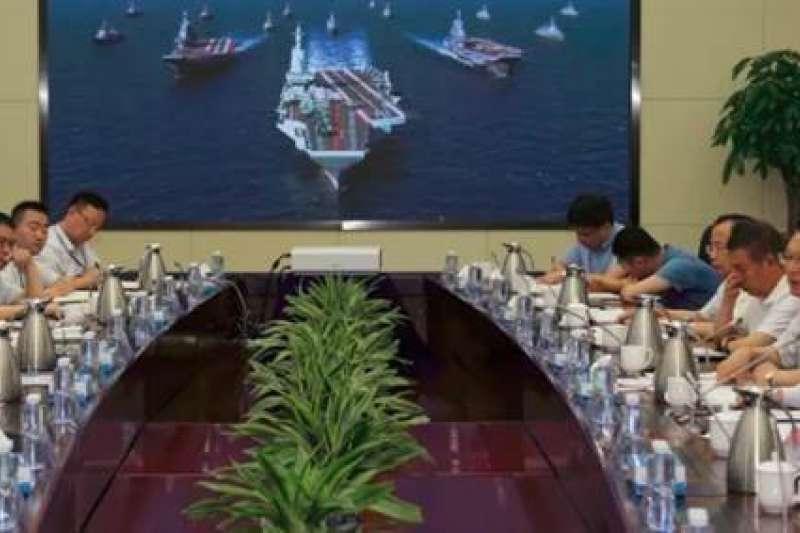 中國航空母艦概念照。(翻攝網路)