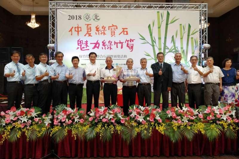 台北市首屆綠竹筍評鑑結果出爐,114 位筍農達人21日角逐第一屆綠竹筍評鑑的達人稱號。(圖/台北市政府提供)