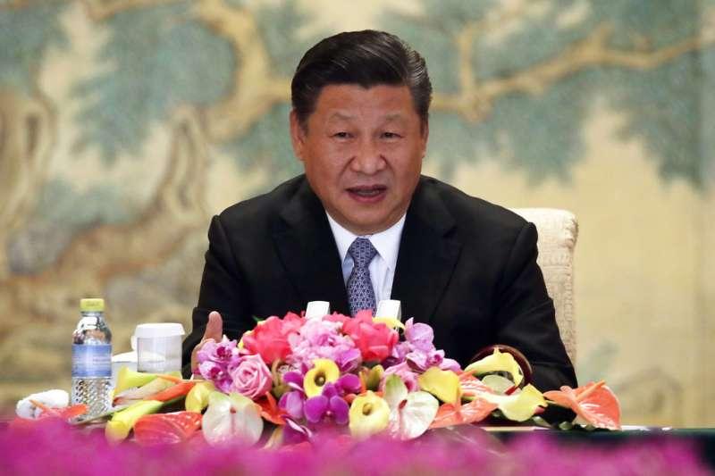 作者認為,中國國家主席習近平已證明自己是中共政權迄今僅次於毛澤東、甚至超過毛澤東的最具權威的人物。(資料照,AP)
