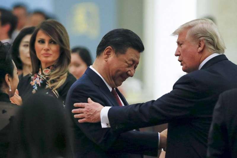 美國可說是故意激怒中國,讓這幾年不斷膨風,吹捧中國國力的共產黨,難以下台,被迫直接與老美應戰,貿易戰短期和解的可能性極低。(資料照,美聯社)