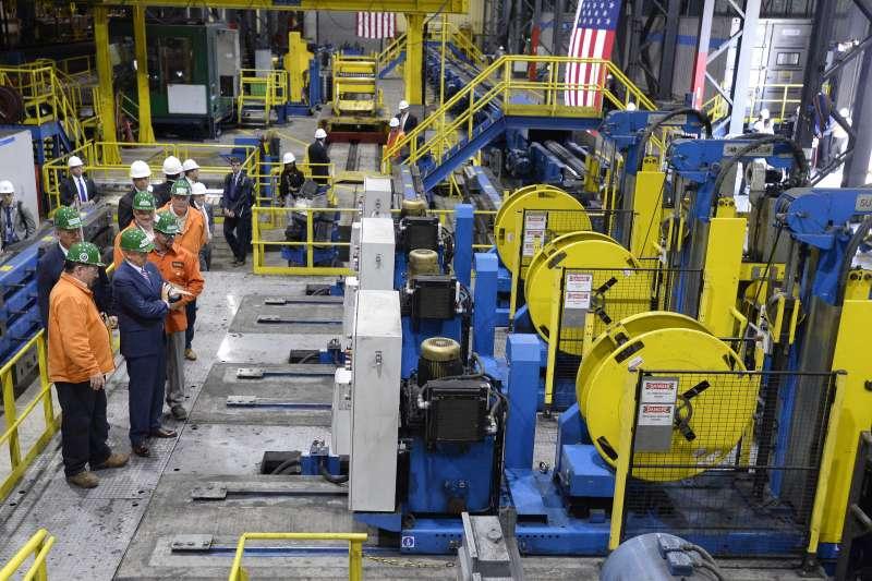 美國為保護國內鋼、鋁產業,對外國進口鋼鋁製品課徵高額關稅,台灣也被波及(AP)