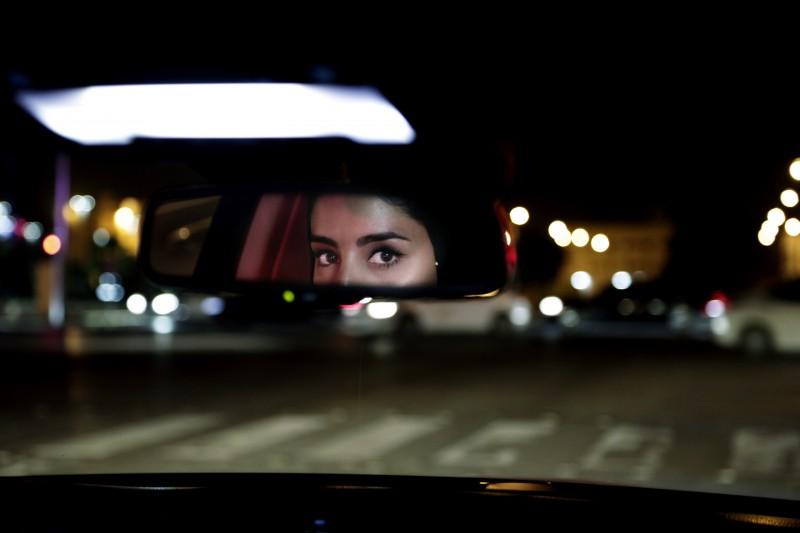 20180624,在沙烏地阿拉伯,駕車不再是男性特權,女性駕車禁令解除。(美聯社)