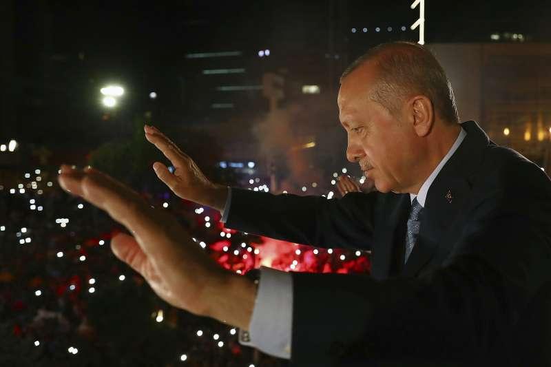 土耳其強人總統艾爾多安。(美聯社)