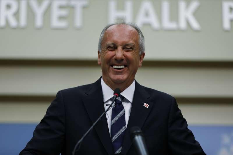 土耳其「超級總統」艾爾多安的頭號勁敵殷傑成功拉抬反對陣營聲勢(AP)
