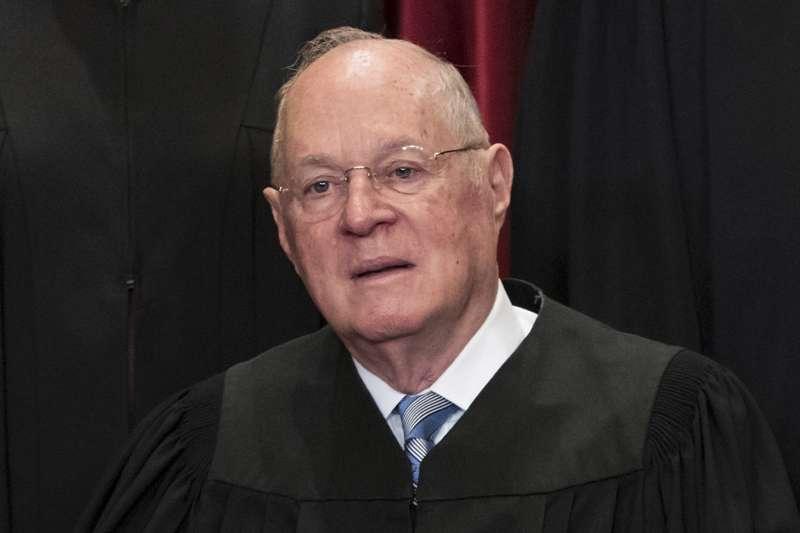 美國聯邦最高法院大法官甘迺迪(Anthony Kennedy)(AP)