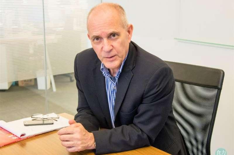 美國食品藥物管理局(FDA)前副局長David Acheson。(圖/食力提供)