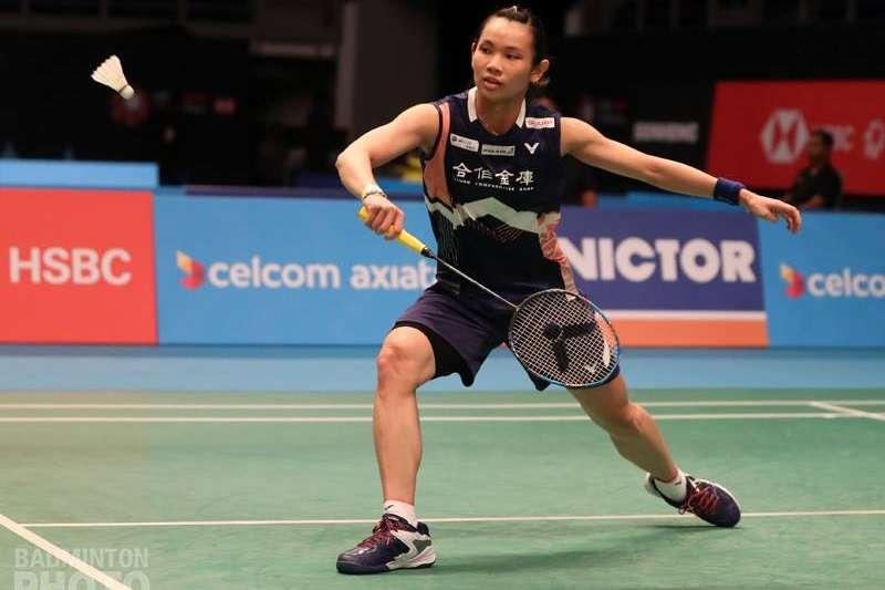 戴資穎在印尼公開賽的2記精彩反手拍,成功入選本週世羽聯的「頂尖反手拍」集錦。 (圖由Badminton Photo提供)