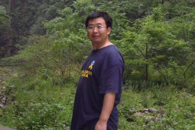 709律師江天勇再度傳出在獄中遭強迫喂藥及非人道對待。(吳亦桐提供 / 拍攝時間不詳)