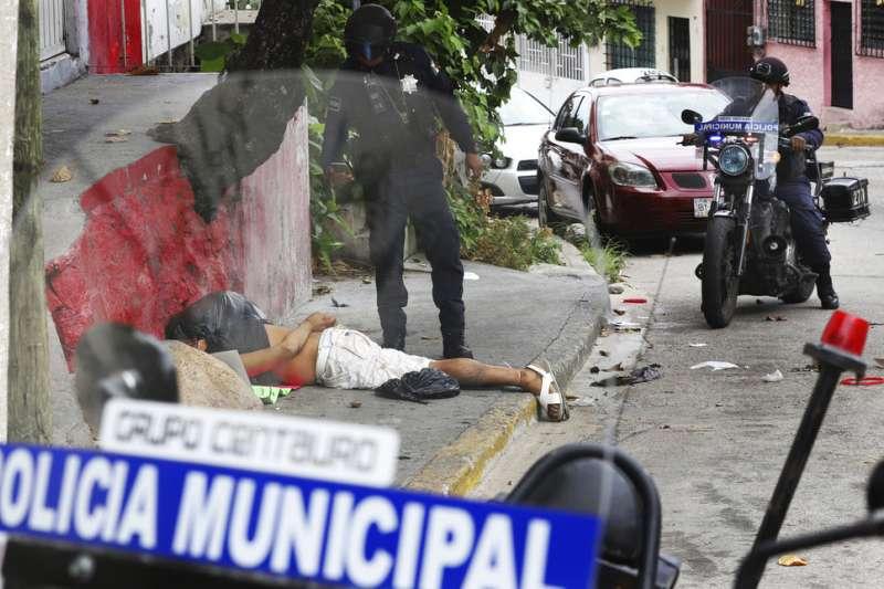 墨西哥2017年的犯罪率創新高。(AP)
