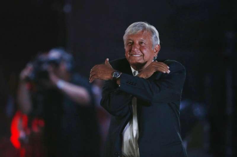 墨西哥總統候選人羅培茲。(AP)