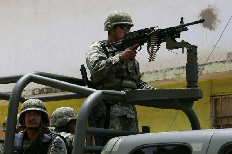 2018年墨西哥全國大選充斥血腥暴力。(AP)