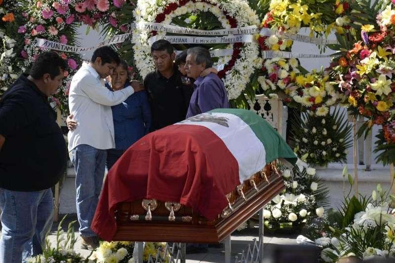 墨西哥全國大選即將於7月1日登場,但已有多達132名政治人物被殺害。(美聯社)