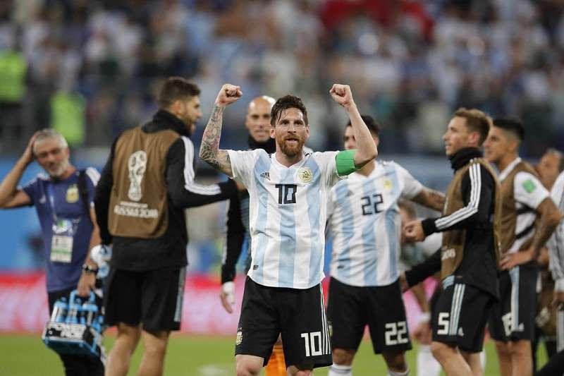 阿根廷在世足能走多遠,就要看梅西與隊友間的默契。(美聯社)