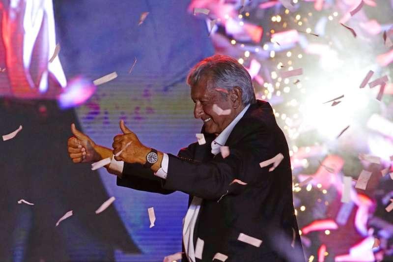 2018年墨西哥總統大選候選人羅培茲。(AP)