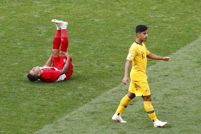 阿爾扎尼成為澳洲隊史出賽世界盃最年輕的球員。 (美聯社)