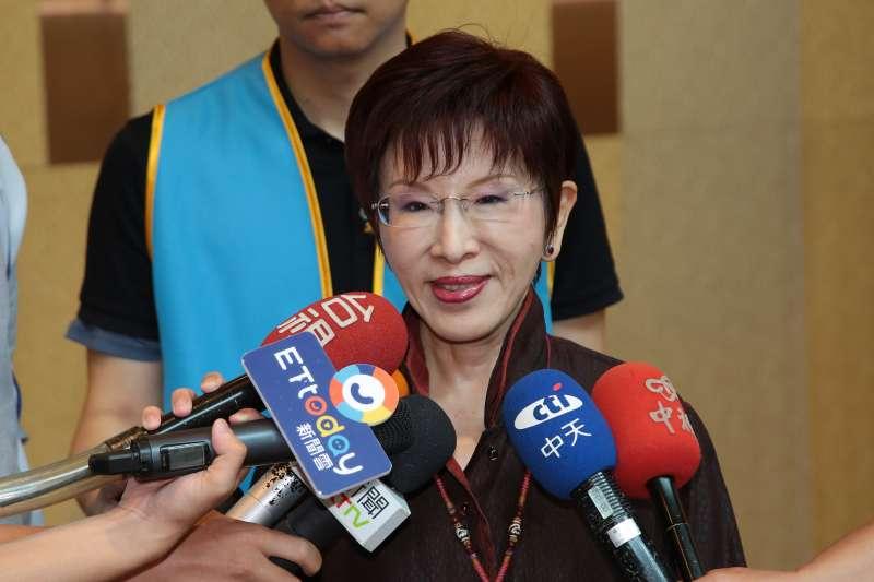 指國民黨有3件事要完成 洪秀柱:兩岸必須統一,否則台灣死路一條-風傳媒