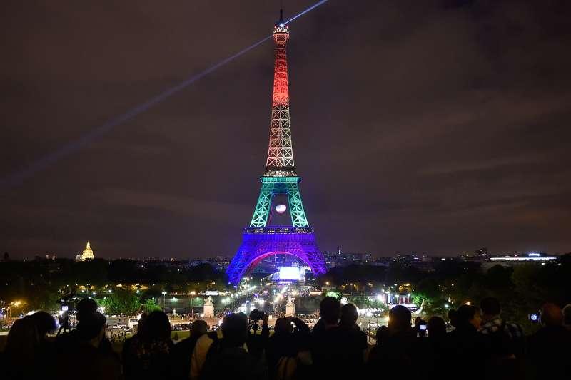 2013年法國同婚合法化,至今已過5年,反對聲音愈來愈少(AP)