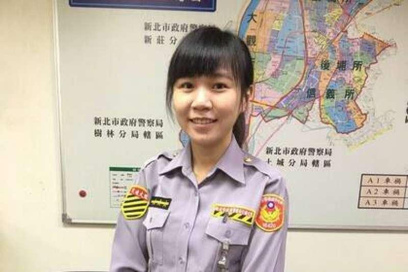 2018年國內女性員警人數達7060人,占全國員警比例首度突破10%。(資料照,取自新北市政府三重分局網站)