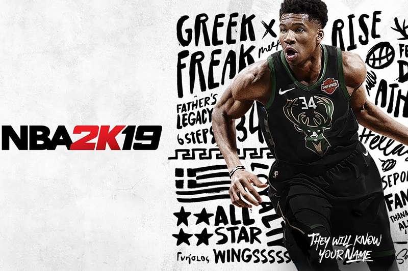 密爾瓦基公鹿明星前鋒安托特昆波被電玩2K19選為新一代封面人物,過去包含科比、詹姆斯、「籃球之神」喬丹都曾擔任過。(圖截自NBA 2K官網)