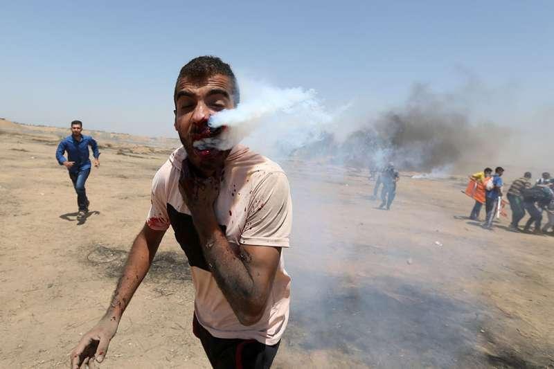 人權理事會再次譴責以色列「鎮壓」巴勒斯坦人,是川普退出該機構的原因之一。(達志影像)