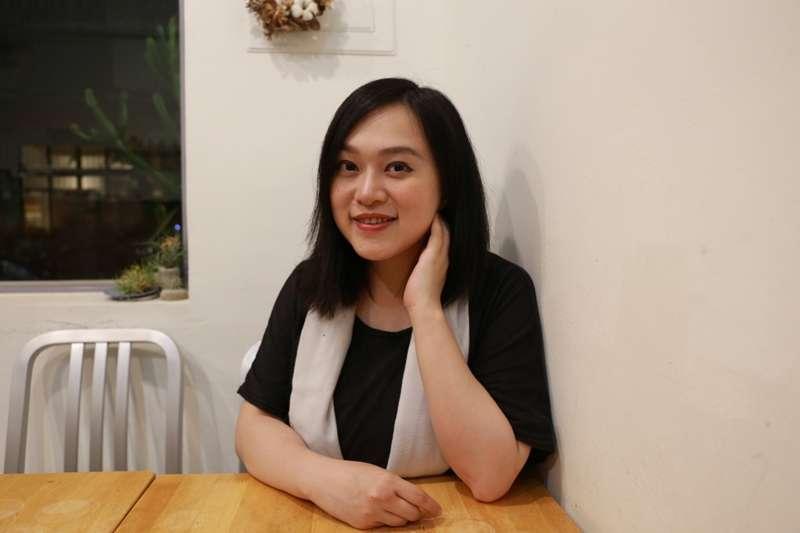 29歲的林端容,已是兩間公司的創辦人。(圖/喀報提供 王貞懿攝)