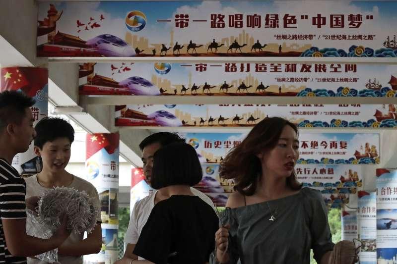 中美貿易戰,台灣要思考我們的產業出路在哪裏?(AP)