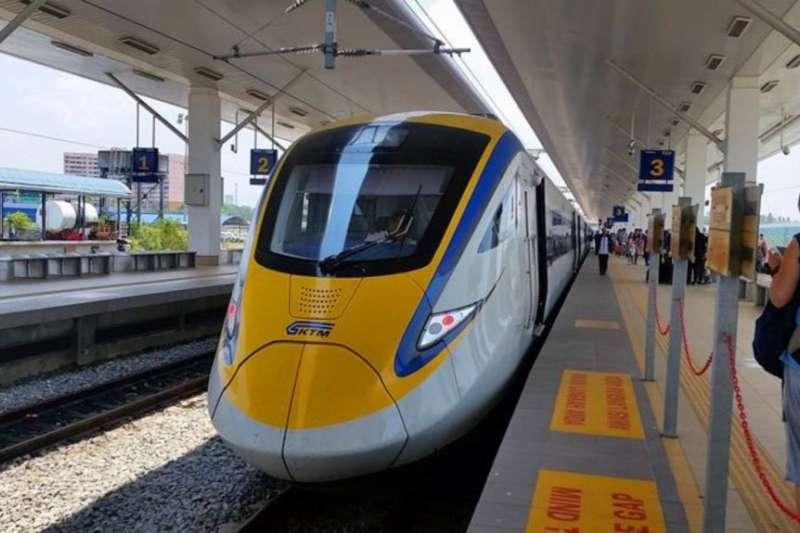 馬來西亞現有鐵路的火車車廂大多是中國公司製造的。(美國之音)