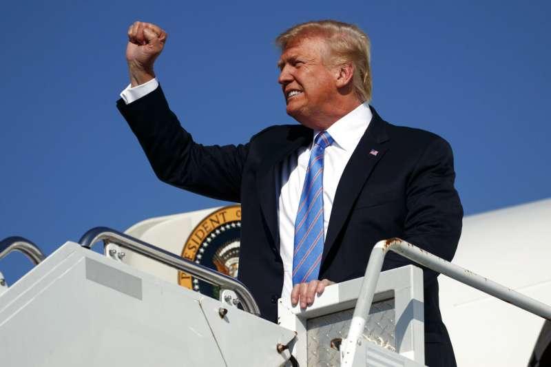 川普任美國總統期間,對抗中國成為美國政壇主流聲音。(資料照,美聯社)