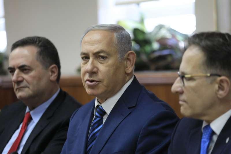 以色列現任總理班傑明納坦雅胡,在 2018年12月底宣布解散國會 (Knesset),於 2019年4月舉辦國會大選。(資料照,美聯社)