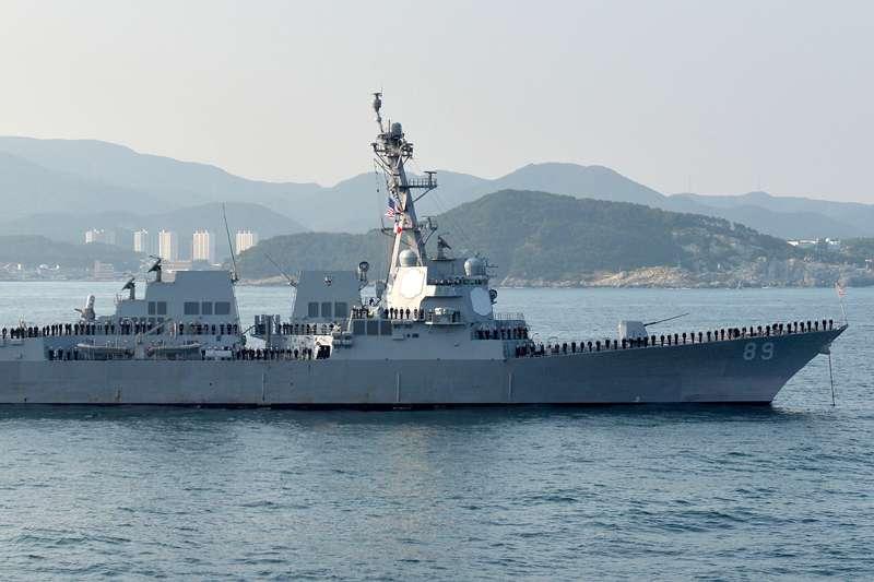 20180707_美軍驅逐艦DDG-89。(取自維基百科,CC BY-SA 2.0)