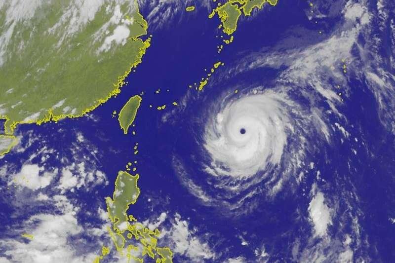 瑪莉亞颱風結構穩定,行經速度極快,預計北台灣首當其衝,全台皆有雨。(取自中央氣象局)