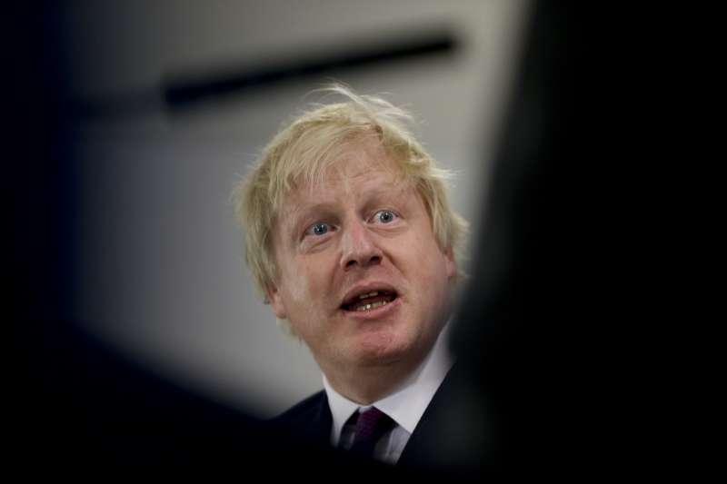 英國外相強森(Boris Johnson)(AP)