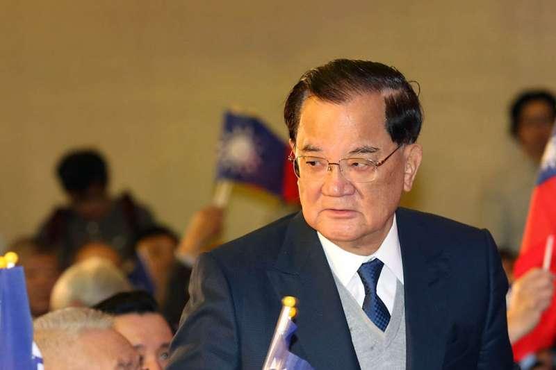 行政執行署台北分署證實,前副總統連戰已託人繳清溢領的退休金10萬元。(資料照,郭晉瑋攝)