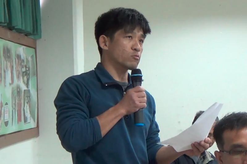 台南社區大學環境行動小組研究員晁瑞光表示,台灣預拌混凝土品質,最大的問題在於砂石粒料的來源。(取自南零二@Youtube)